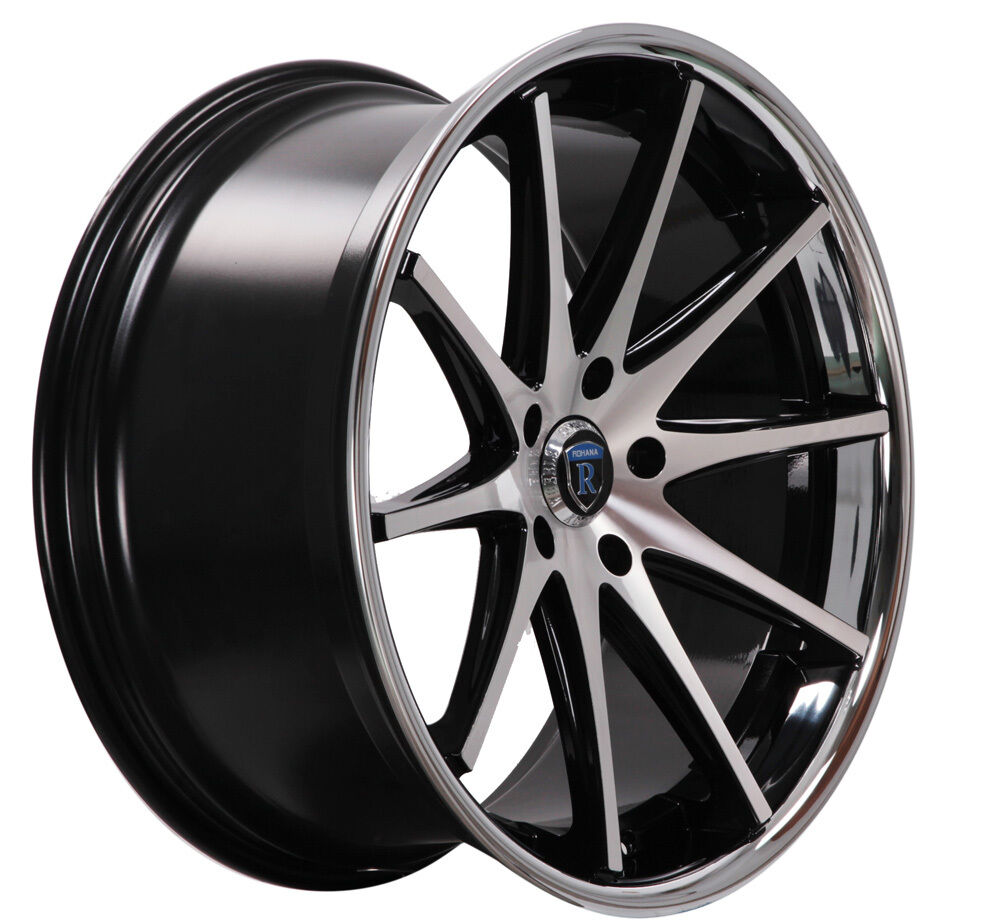 22 Quot Rohana Rc10 5x120 Concave Staggered Ebay