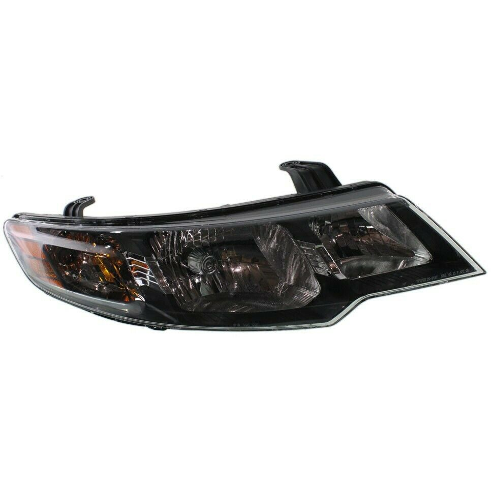 headlight for 2010 2012 kia forte passenger side w bulb. Black Bedroom Furniture Sets. Home Design Ideas