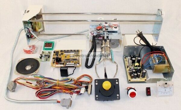 Crane Machine Kit w/ Components and Manual Build Your Own Arcade Crane ...