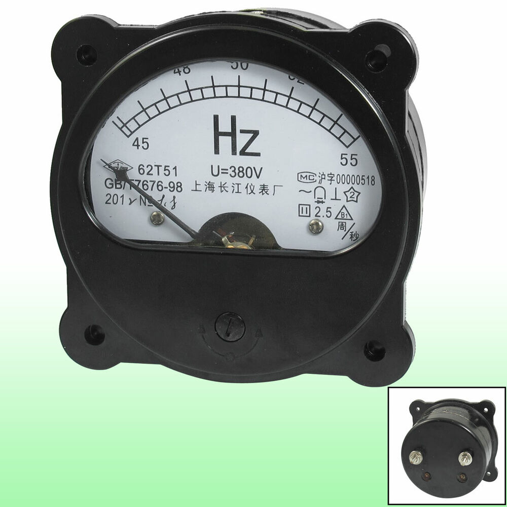 Panel Mount Frequency Counter : V hz fine tuning dial panel analog frequency