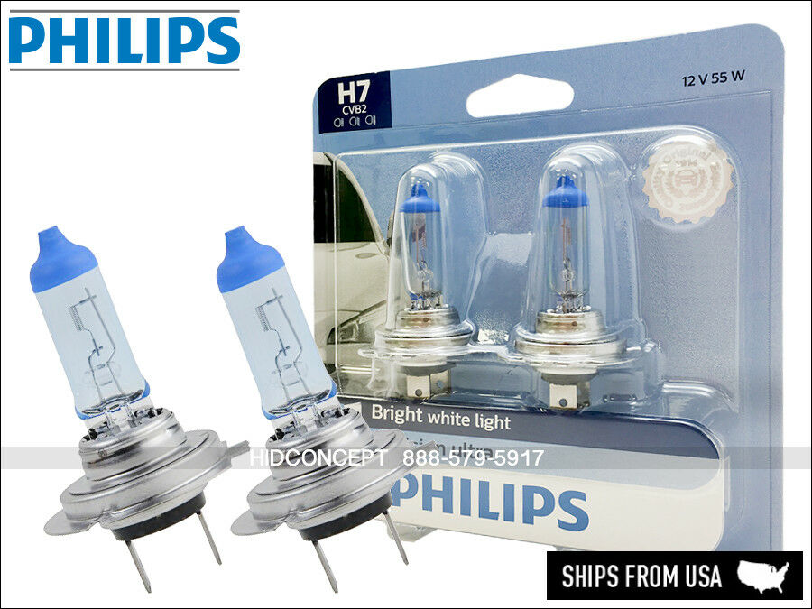 new philips crystal vision ultra h7 xenon hid look. Black Bedroom Furniture Sets. Home Design Ideas