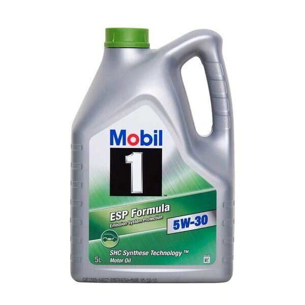 Mobil 1 esp sae 5w30 fully synthetic car engine oil 5l low for 5w30 fully synthetic motor oil
