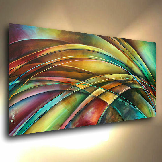 cool modern art abstract original painting modern contemporary decor 2573