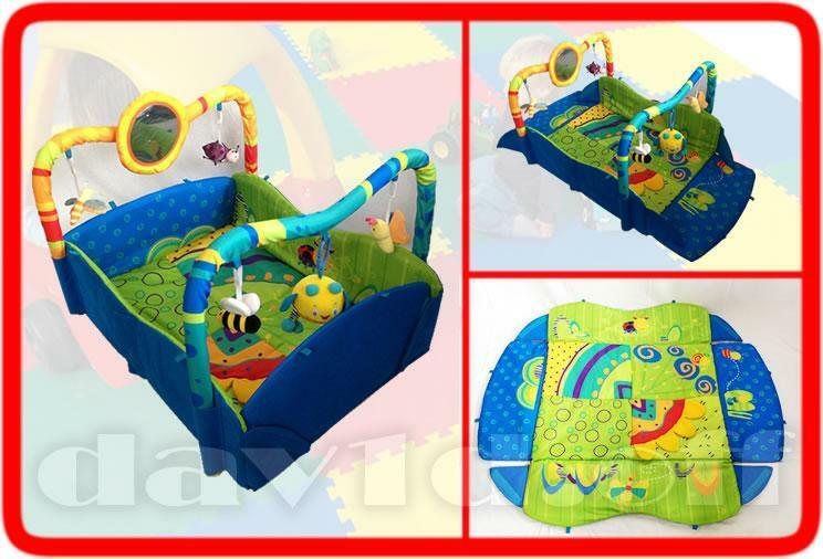 New Large Beautiful Toys Baby Play Mat Activity Centre Gym