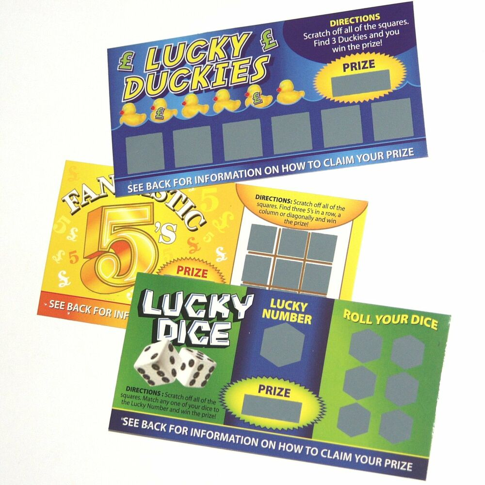 Luck Of The Irish Scratch Card