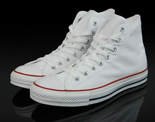9a80f6b86ee0 Details about Converse White M7650 Classic Chuck Taylor Sneakers Trainer  HIGH ALL STAR HI NEW