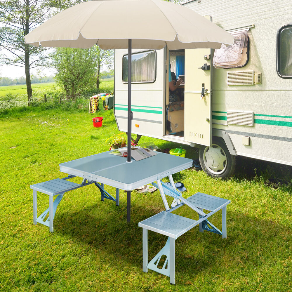 Portable Folding Camping Picnic Table Party Outdoor Garden