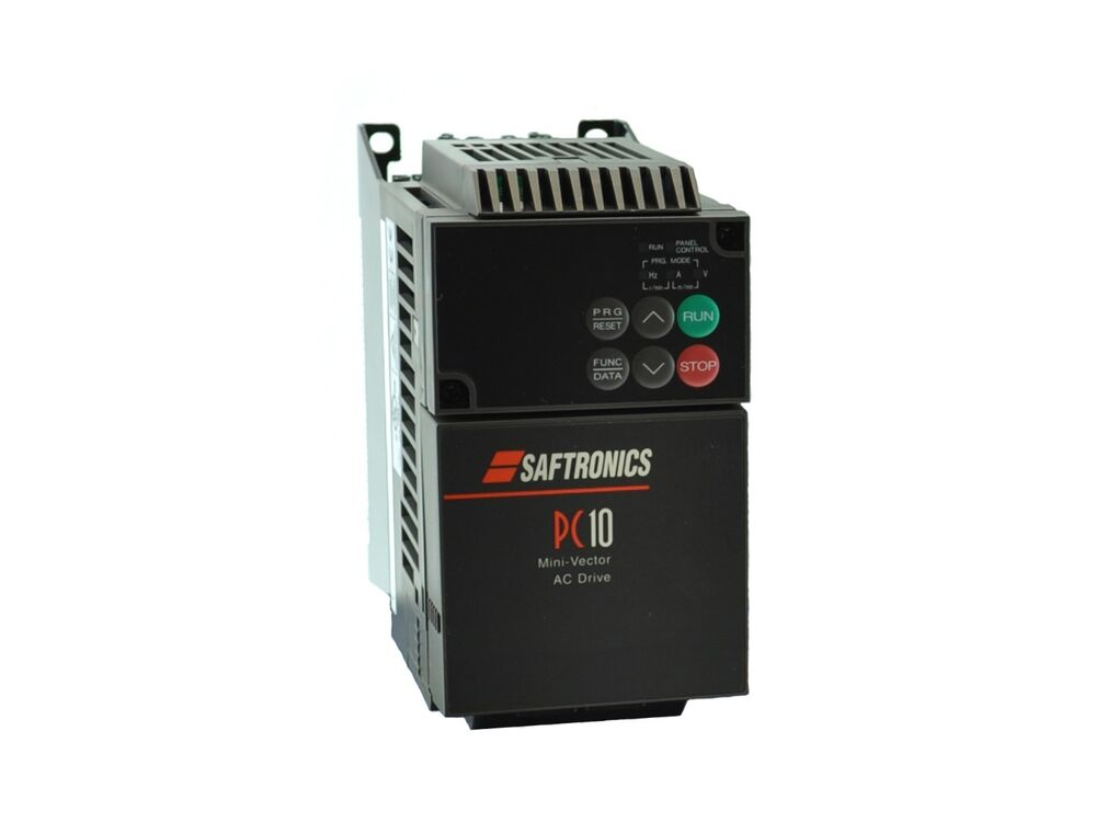 7 5hp 230v 3 phase saftronics pc10 vfd inverter drive for Vfd for 5hp motor