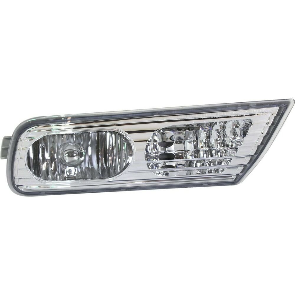 Clear Lens Fog Light For 2007-09 Acura MDX Passenger Side