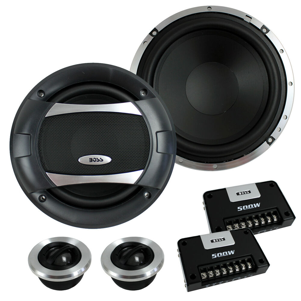 new boss audio pc65 2c 6 5 500w 2 way car component. Black Bedroom Furniture Sets. Home Design Ideas