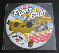 Microsoft Flight Simulator Flight 1 FSX Software Piper Cub Realair Scout Game CD