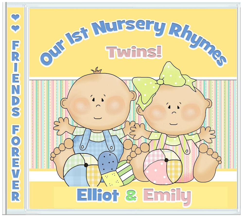 Twins Personalised Gifts For Twin Girl & Boy Newborn/Birthday/Christmas/Easter