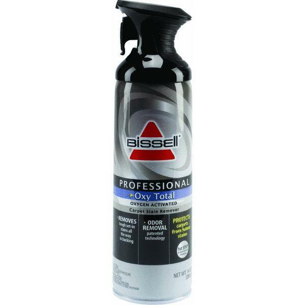 carpet spot cleaner 14 oz bissell oxy total carpet cleaner spray on rug 31302