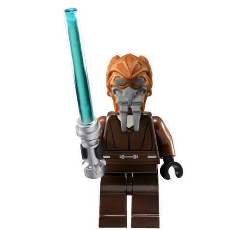 new lego star wars plo koon minifig figure minifigure 8093. Black Bedroom Furniture Sets. Home Design Ideas