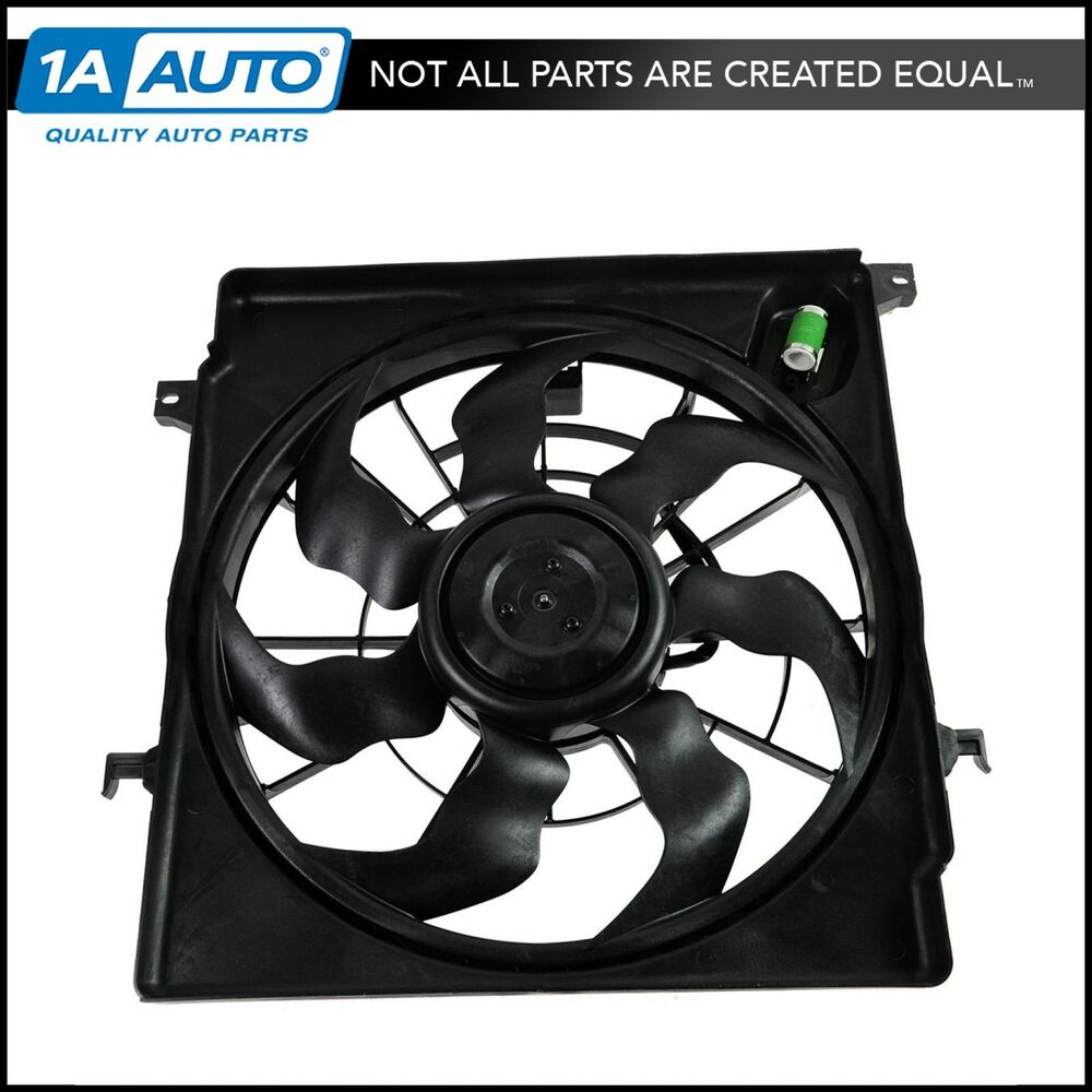 2011 Hyundai Sonata Turbo: Radiator Cooling Fan Assembly For Kia Optima Hyundai