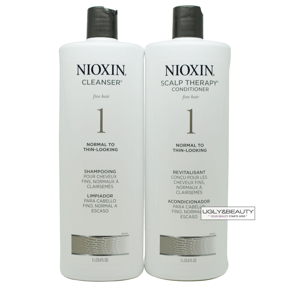 Nioxin System 1 Liter Duo Cleanser Amp Scalp Therapy 1 L