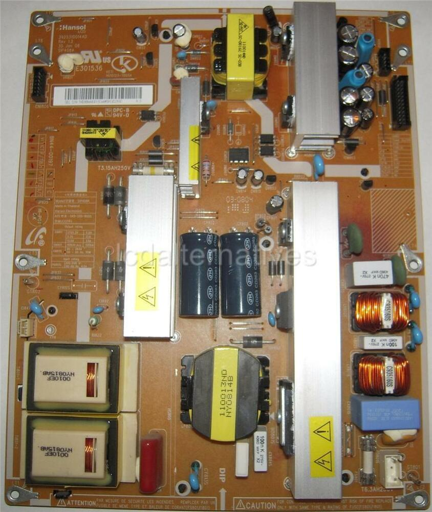 samsung ln40a550 lcd tv repair kit bn44 00197 not the entire board ebay. Black Bedroom Furniture Sets. Home Design Ideas