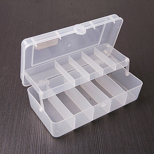 double fishing hooks space beans lure bait tackle box