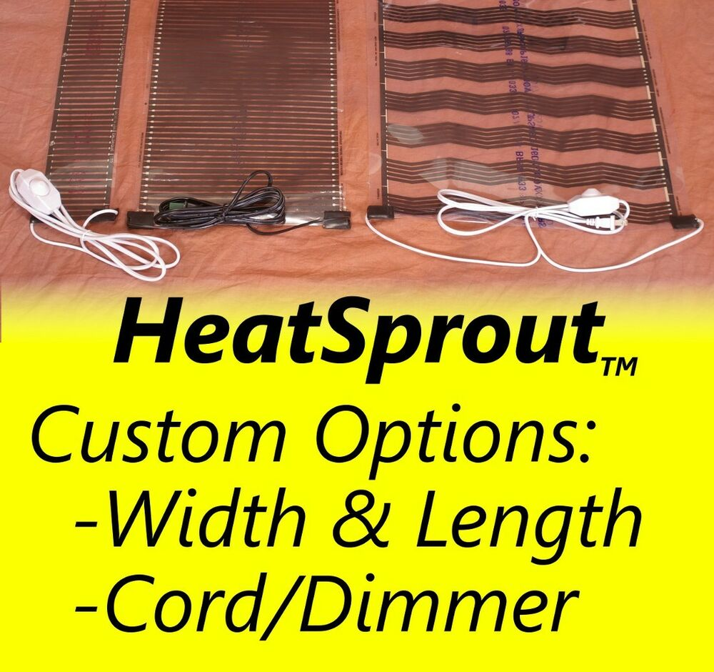 Heat Sprout Seedling Seed Heat Mat Sprouting Propagation