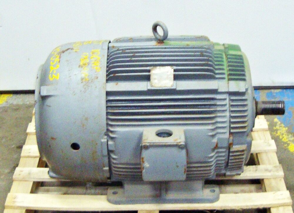 Sls1b12 mac electric ac motor 100hp 1780rpm 14594lr ebay for Ac and dc motor