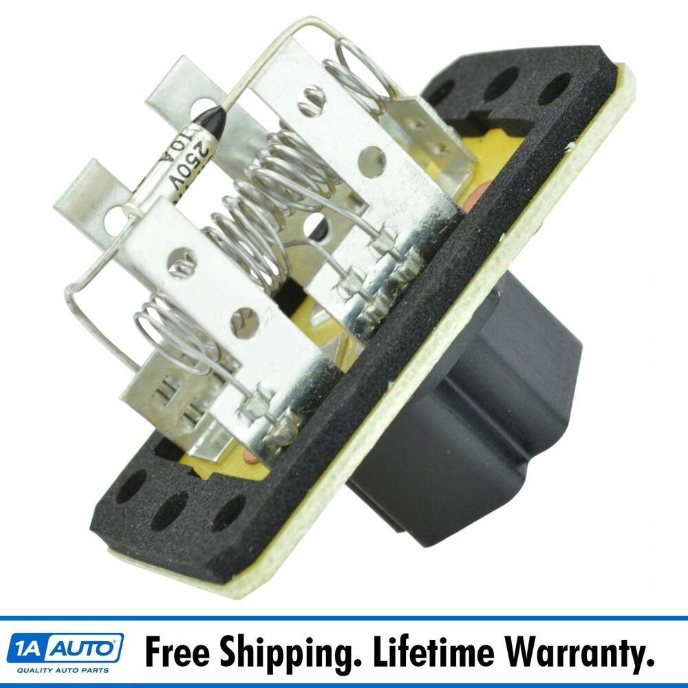 Heater blower motor resistor for ford mazda lincoln pickup for Home ac blower motor replacement cost