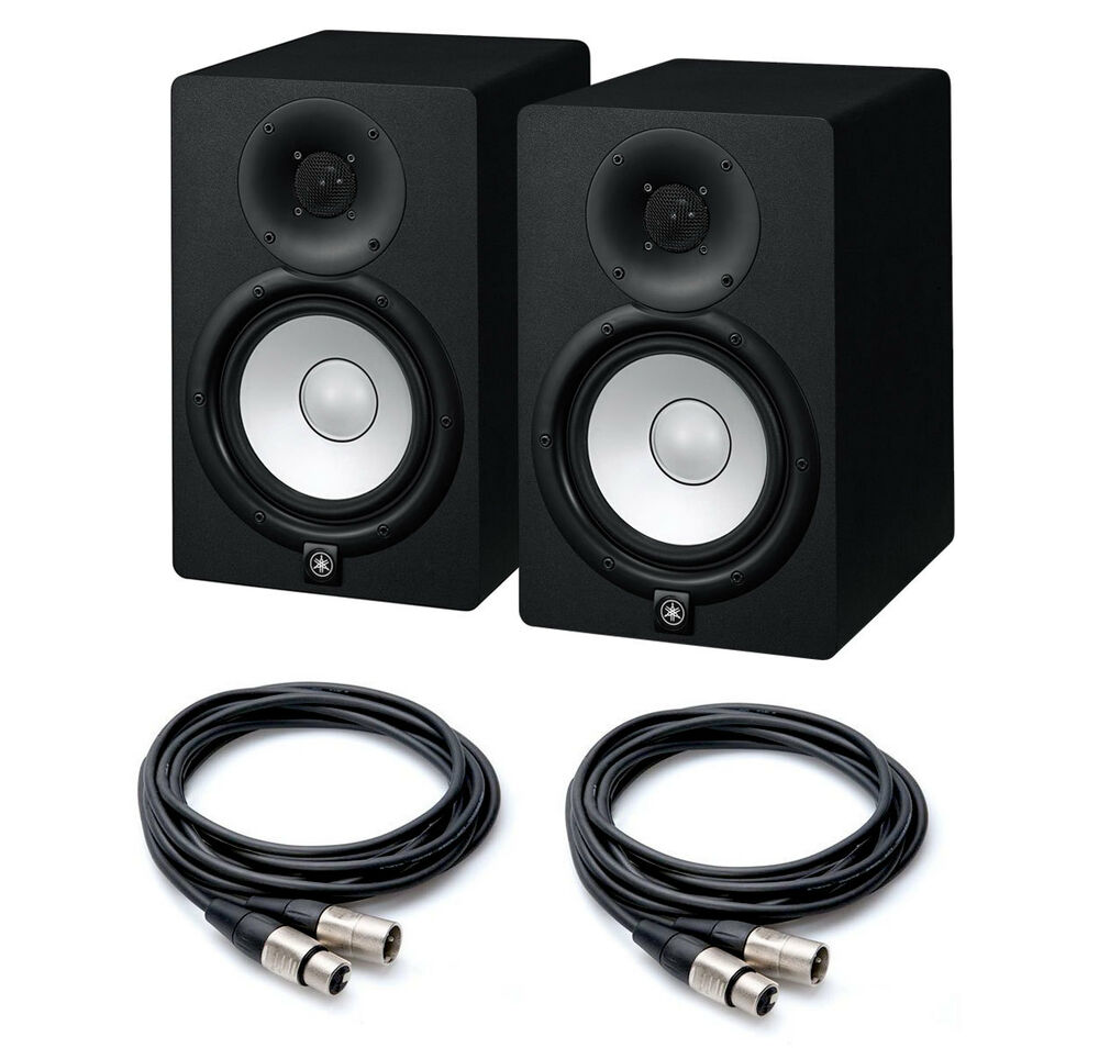 coppia yamaha hs7 monitor da studio 95w cavi xlr nuovi. Black Bedroom Furniture Sets. Home Design Ideas