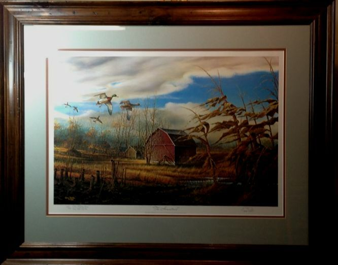 The Homestead By Terry Redlin Framed Ebay