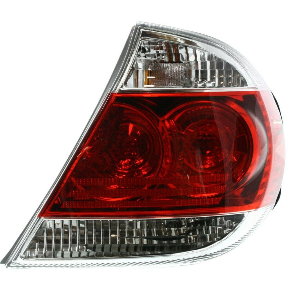 tail light for 2005 2006 toyota camry le rh us made models w bulb s ebay. Black Bedroom Furniture Sets. Home Design Ideas