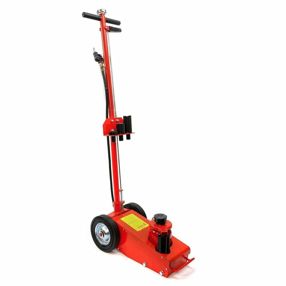 ton air hydraulic floor jack hd truck power lift auto truck repair