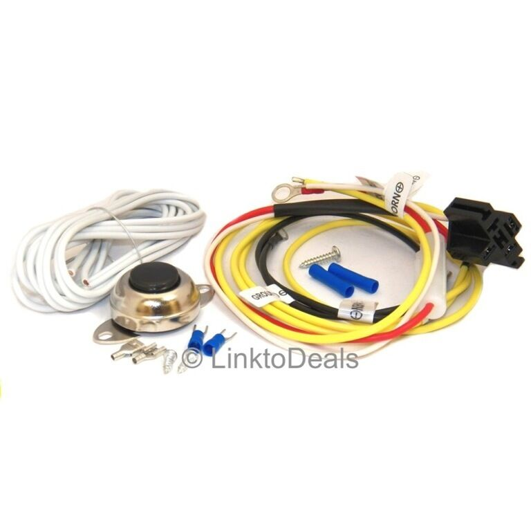 train horn wiring kit car air horn installation wire kit w/ button for dixie la ...