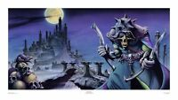Nazereth, No Mean City, large print signed  by Rodney Matthews