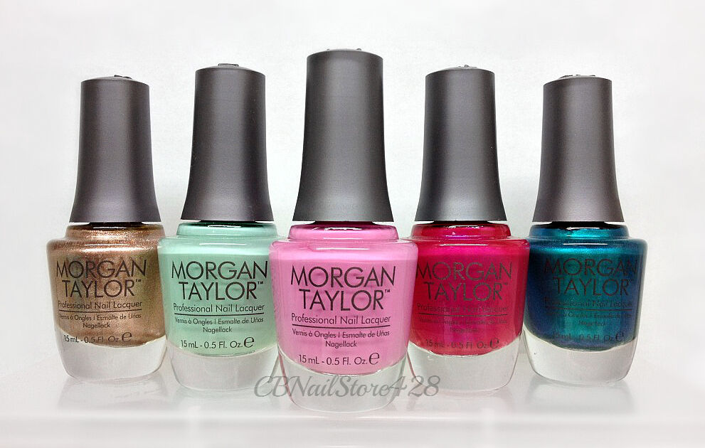 MORGAN TAYLOR -Professional Nail Lacquer Series 2 - Pick Any Color ...