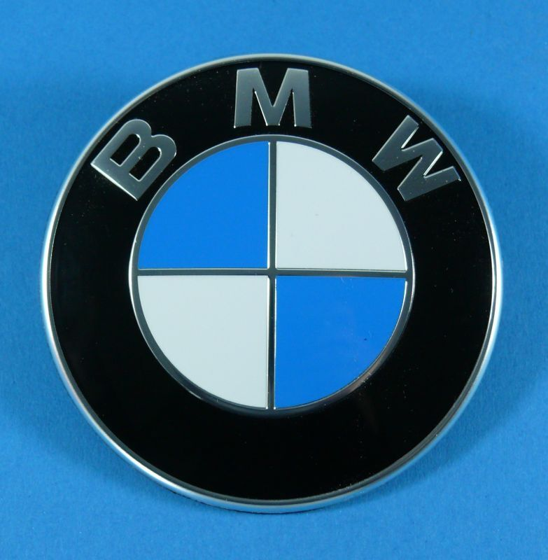 original bmw emblem vorne f r motorhaube bmw 5er e12 e28 e34 e39 e60 e61 ebay. Black Bedroom Furniture Sets. Home Design Ideas