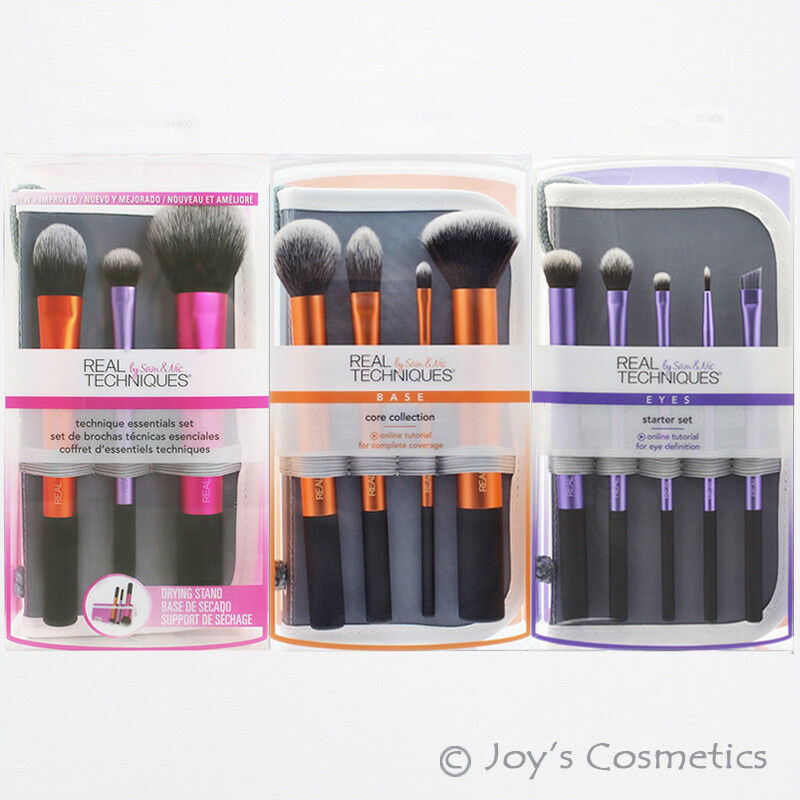 1 real techniques makeup brush set pick your 1 type joy 39 s cosmetics ebay. Black Bedroom Furniture Sets. Home Design Ideas