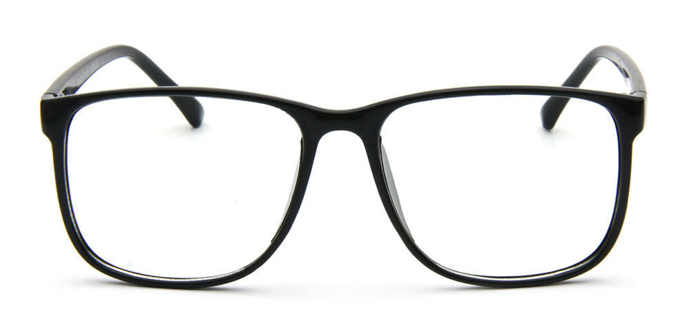 Black Frame Glasses Celebrities Wear : Black Square Eyeglasses Fashion Clear Lens Designer ...