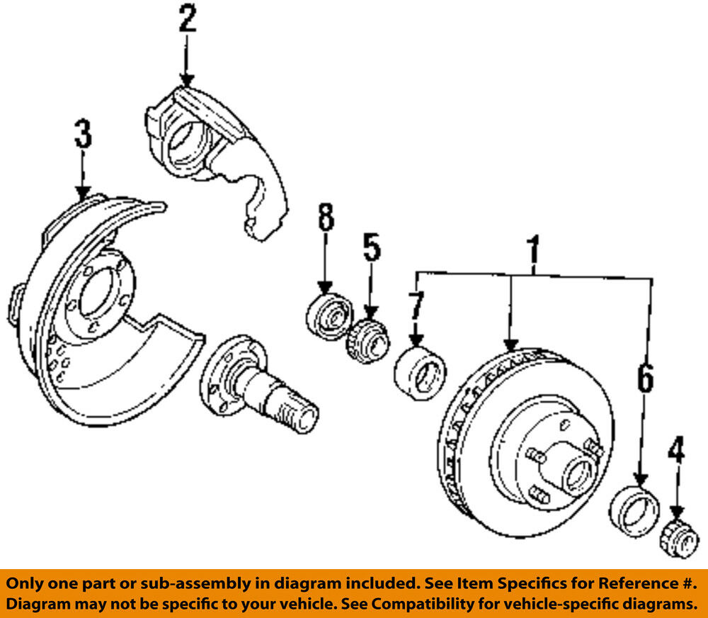 Ford oem f 150 disc brake front backing plate dust splash shield ford oem f 150 disc brake front backing plate dust splash shield left f4tz2k005b ebay pooptronica