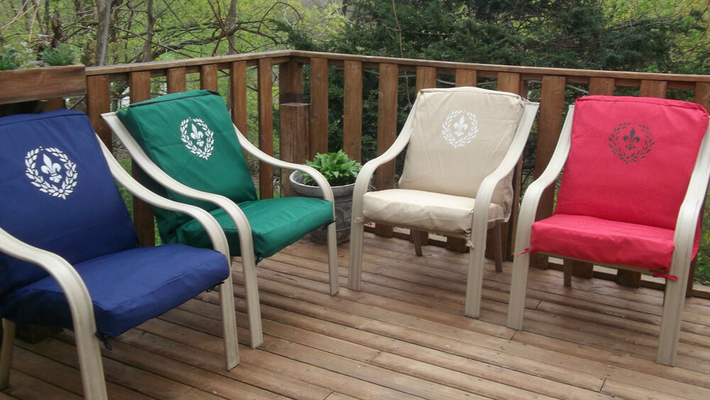 OUTDOOR PATIO CHAIR CUSHION COVERS RECOVER YOUR CUSHION pare Prices