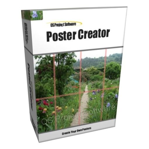 poster maker creation software for pc and mac osx ebay. Black Bedroom Furniture Sets. Home Design Ideas