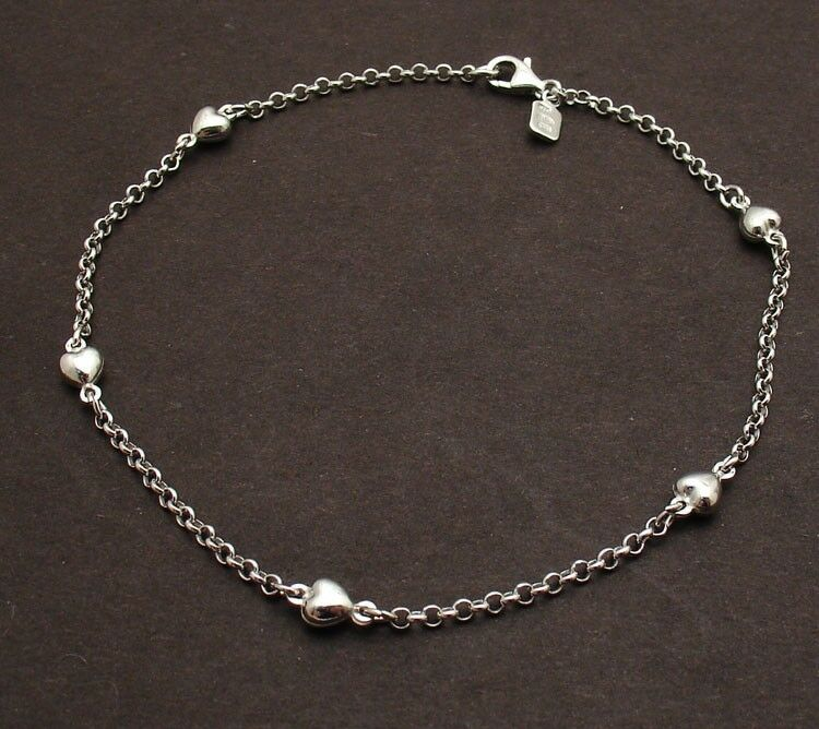 Platinum Clad 3d Heart Anklet Ankle Bracelet Sterling. Nepali Necklace. Sun Pendant. White Lady Watches. Navajo Necklace. Plastic Chains. Kidney Cancer Bracelet. Acrylic Pendant. Soccer Necklace
