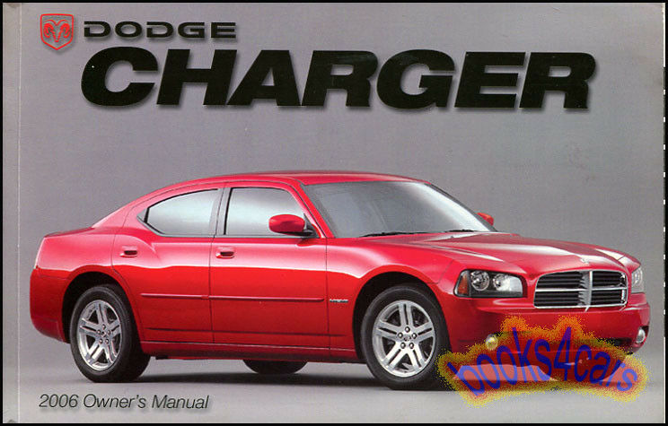 2006 charger owners manual dodge handbook guide book new. Black Bedroom Furniture Sets. Home Design Ideas