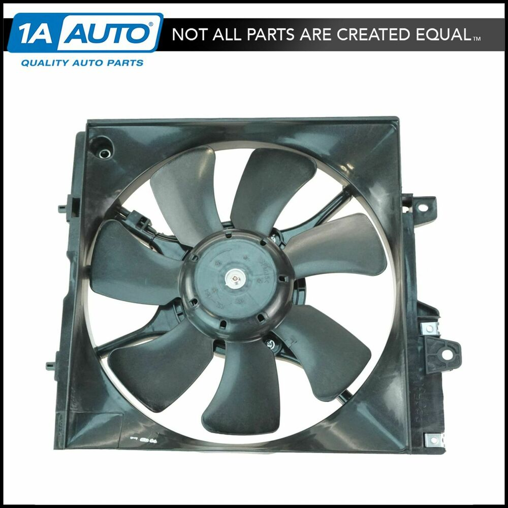 A c ac air conditioner condenser fan w motor for subaru for Air conditioner compressor motor