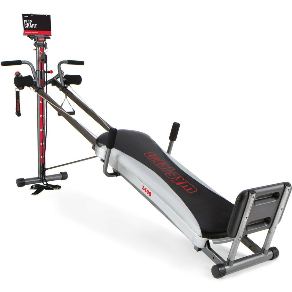 Total gym deluxe home fitness exercise machine