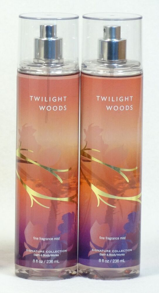 2 Bath Amp Body Works Twilight Woods Fine Fragrance Mist