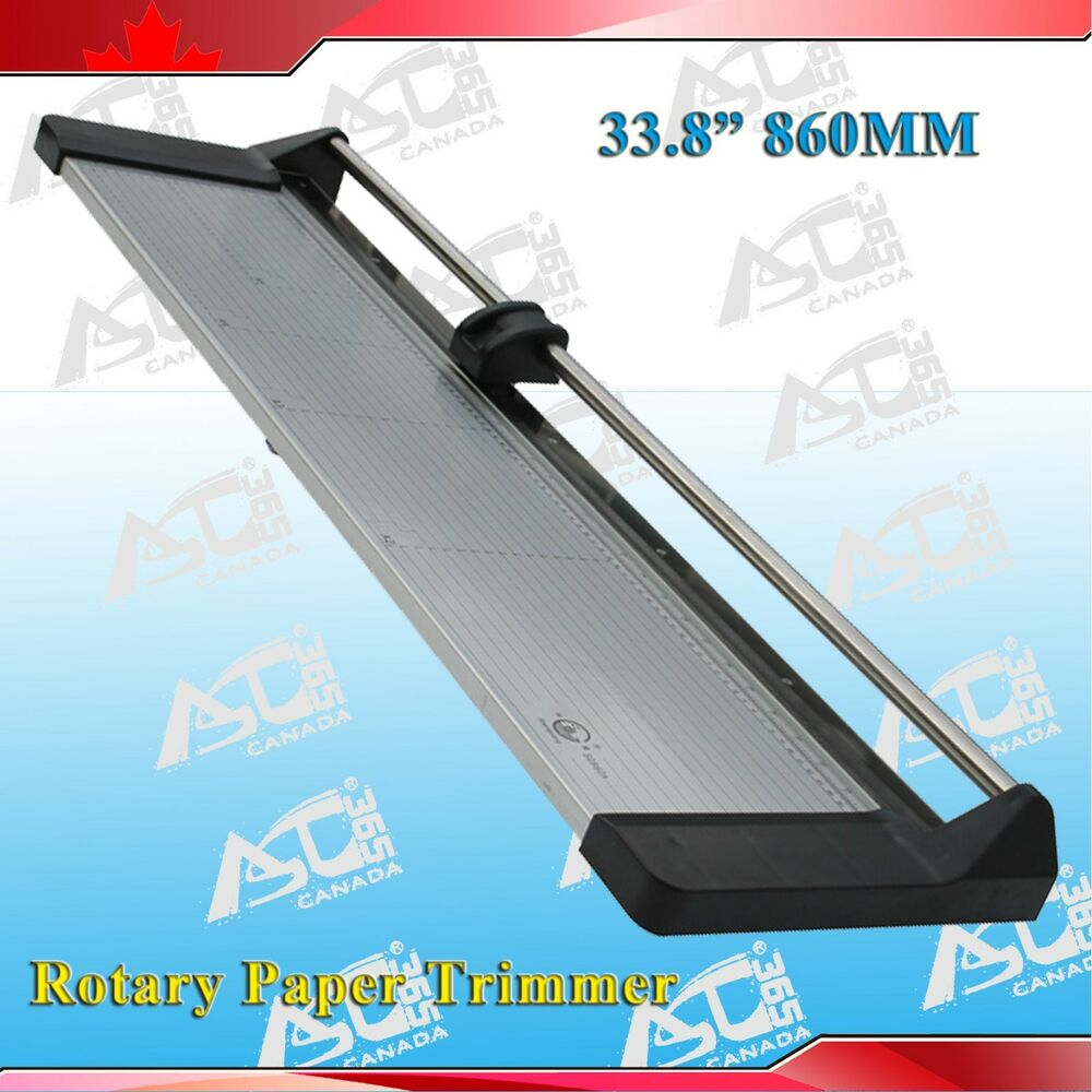 Brand New 33 8in 860mm Rotary Photo Vinyl Paper Cutter