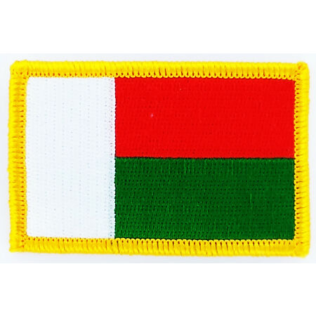 img-PATCH ECUSSON BRODE DRAPEAU MADAGASCAR INSIGNE THERMOCOLLANT NEUF FLAG PATCHE