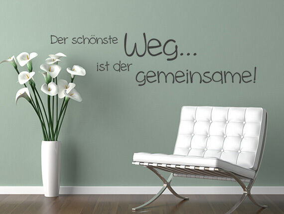 wandtattoo liebe wandsticker spr che zitate der sch nste. Black Bedroom Furniture Sets. Home Design Ideas