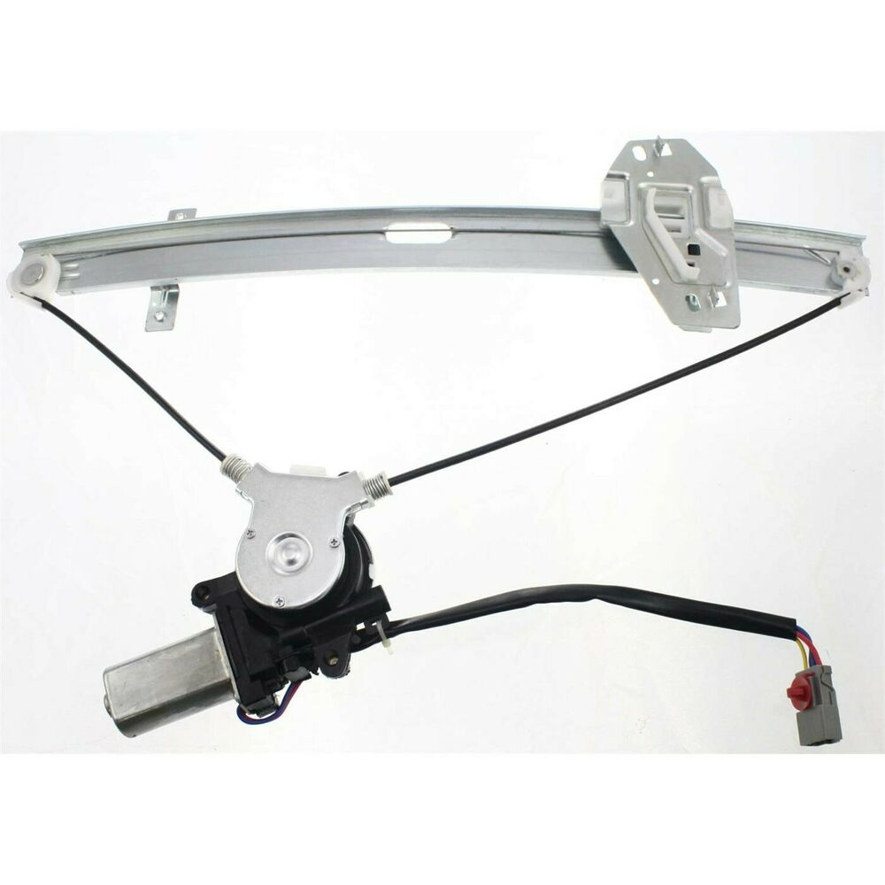 Power window regulator for 98 2002 honda accord front for Window motor repair cost