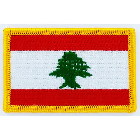 img-PATCH ECUSSON BRODE DRAPEAU LIBAN INSIGNE THERMOCOLLANT NEUF FLAG PATCHE