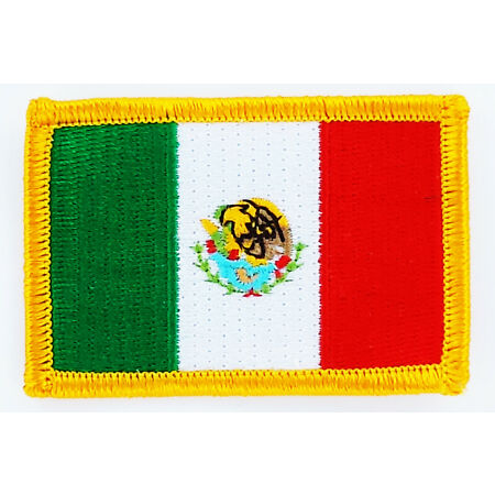 img-PATCH ECUSSON BRODE DRAPEAU MEXIQUE INSIGNE THERMOCOLLANT NEUF FLAG PATCHE