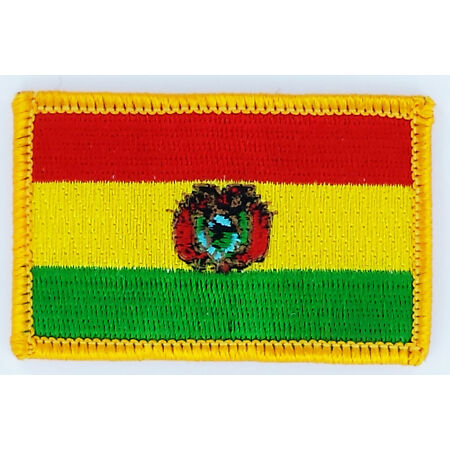 img-PATCH ECUSSON BRODE DRAPEAU BOLIVIE INSIGNE THERMOCOLLANT NEUF FLAG PATCHE